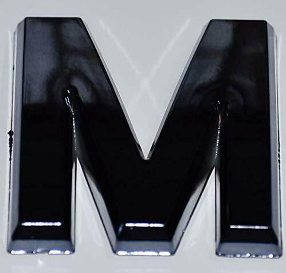 1 PCS - Apartment Number Sign/Mailbox Number Sign, Door Number Sign. Letter M