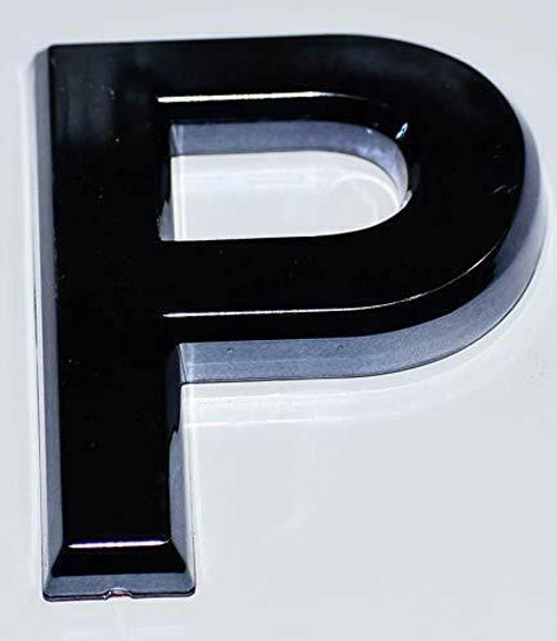 Apartment Number Sign Letter P