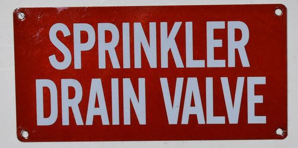 Sprinkler Drain Valve
