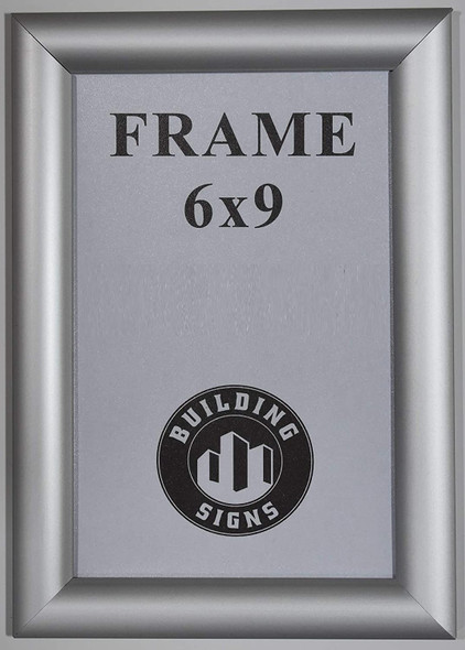 License Permit Frame  (Front Open- Aluminum !!)