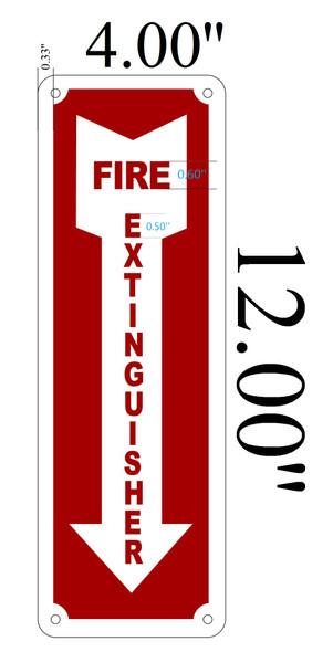 Fire Extinguisher sign dob