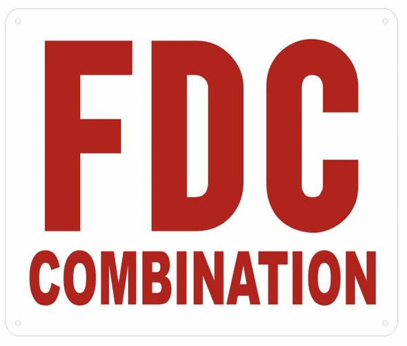 FDC Combination Sign , ,