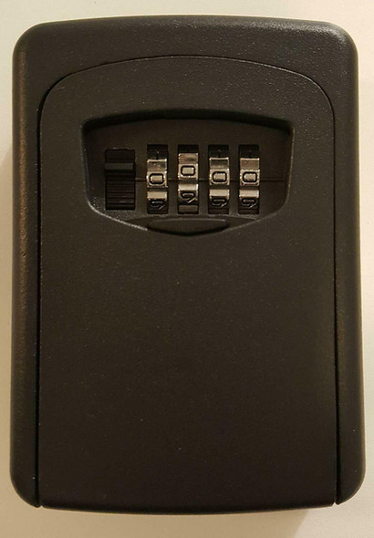 Key Storage Lock Box,-Digit Combination Lock Box, Wall Mounted Lock Box,