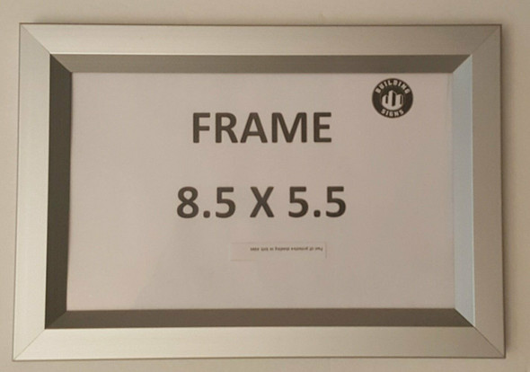 Elevator Inspection Frame 8.5 x 5.5