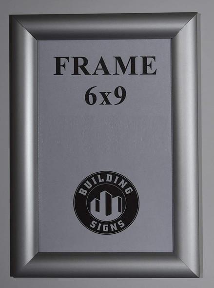 Elevator Certificate Notice Frame  (Aluminium, Card  Front Insert)