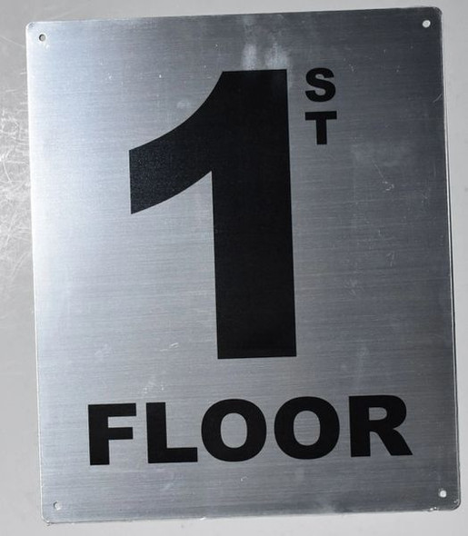 hpd floor number sign