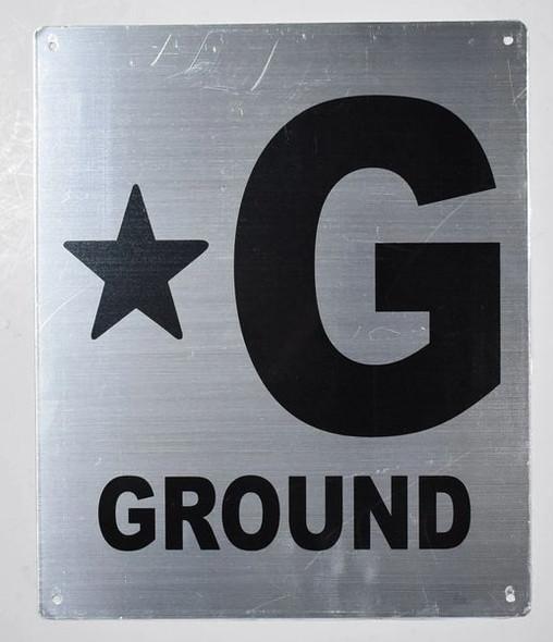 Star G Floor SIGN
