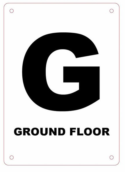 Ground Floor Sign