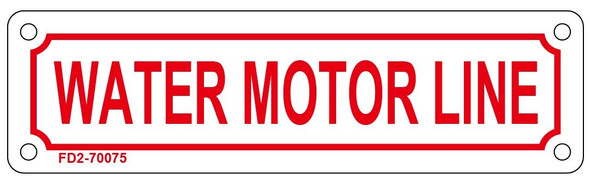 Water Motor LINE Sign ,