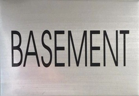 BASEMENT SIGN - Delicato line