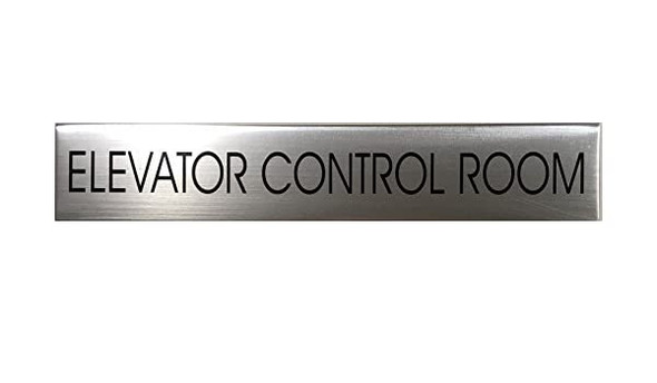ELEVATOR CONTROL ROOM SIGN - Delicato line