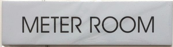 METER ROOM SIGN - Delicato line