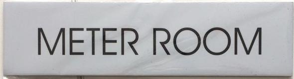 METER ROOM SIGNAGE - Delicato line
