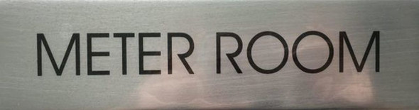 SIGN METER ROOM  - Delicato line