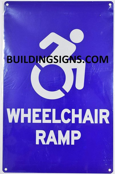 Wheelchair RAMP   The Pour Tous Blue LINE