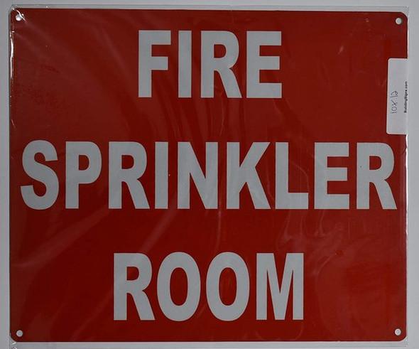 FIRE Sprinkler Room Sign