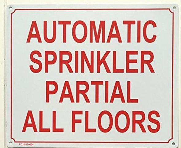 SPRINKLER SIGN