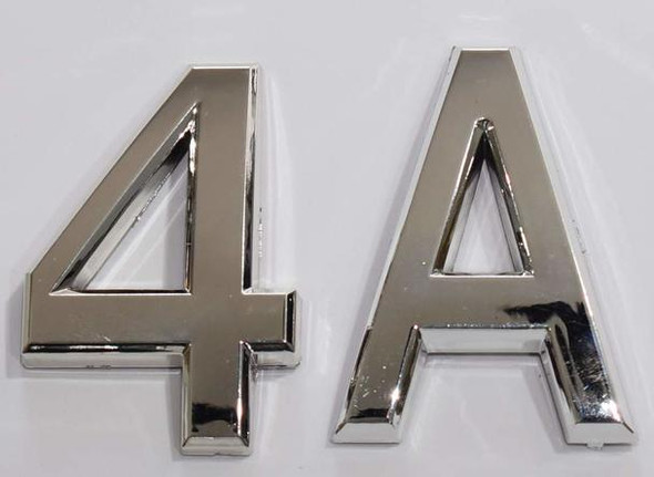 4a sign silver