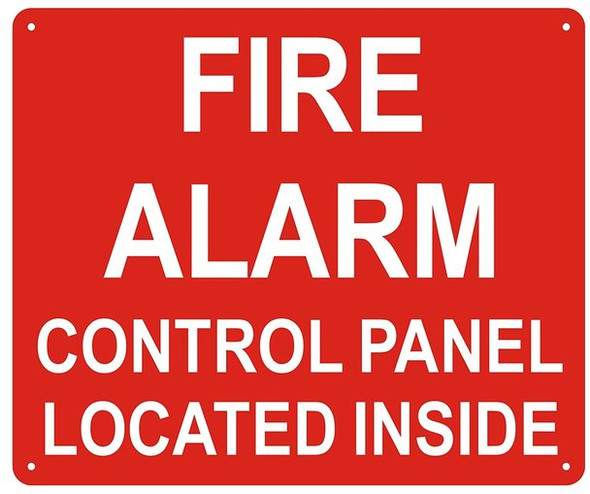 FIRE Alarm Control Panel Located Inside