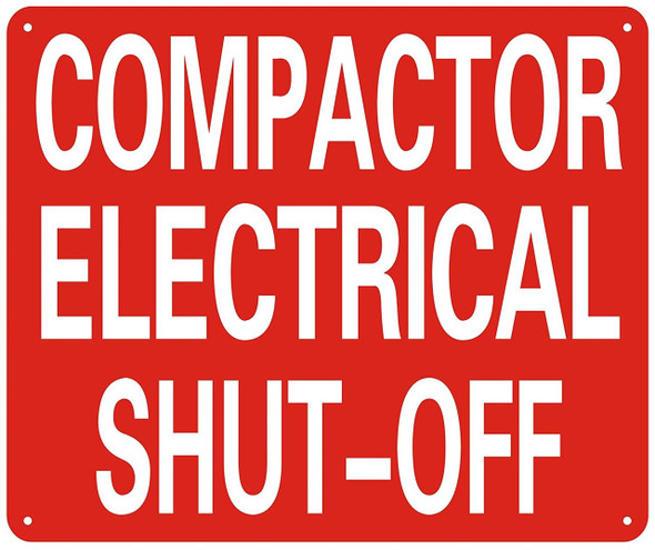 COMPACTOR ELECTRICAL SHUT OFF