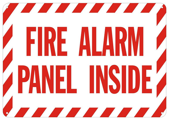 FIRE Alarm Panel Inside Sign