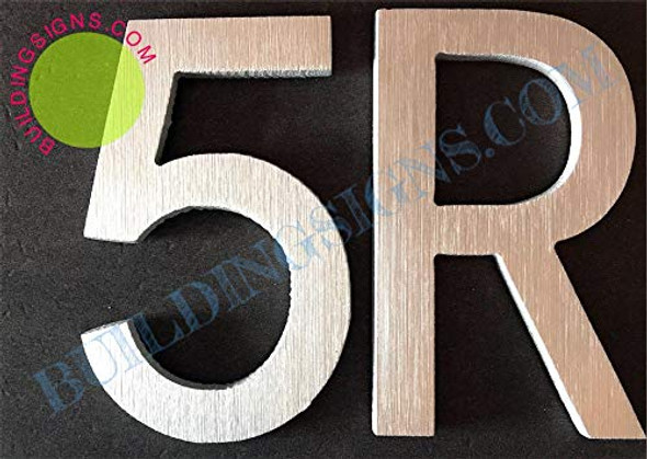 Apartment Number Sign 5R