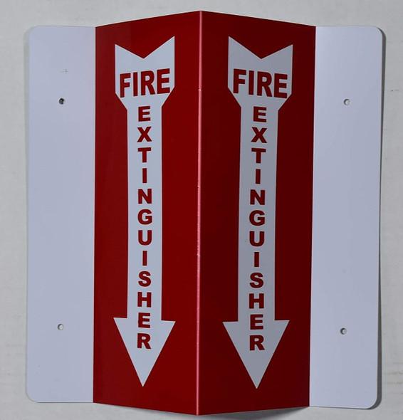 Fire Extinguisher SIGN HALLWAY