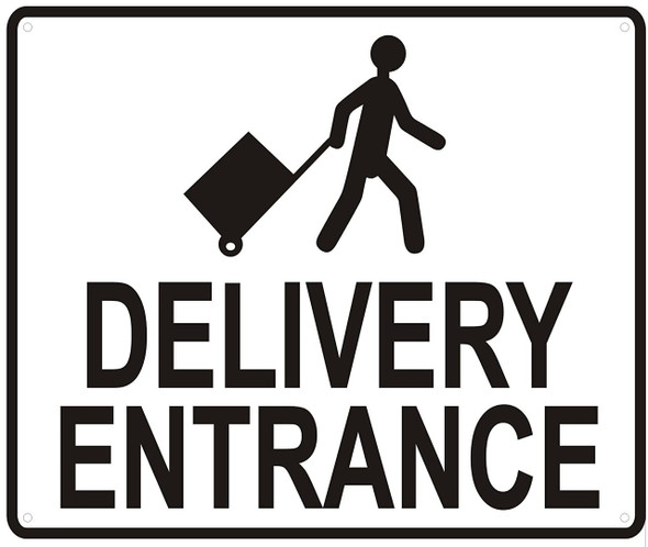 DELIVERY ENTRANCE -WITH IMAGE