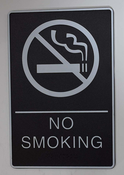ADA NO SMOKING Sign.