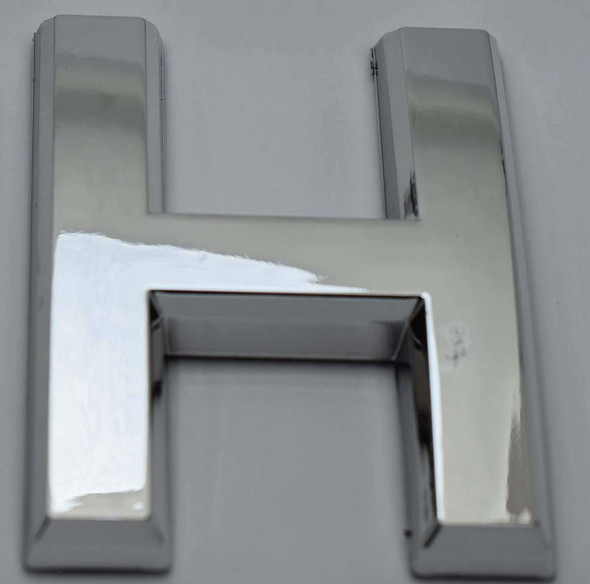 1 PCS - Apartment Number Sign/Mailbox Number Sign, Door Number Sign. Letter H