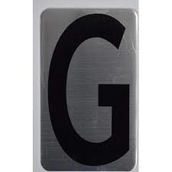 House Number Letter /Apartment Number Letter - Letter G  -The Hippo LINE