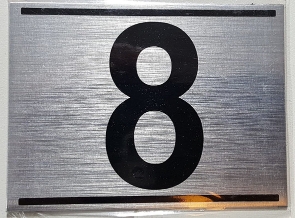 APARTMENT Number Sign EIGHT (8)