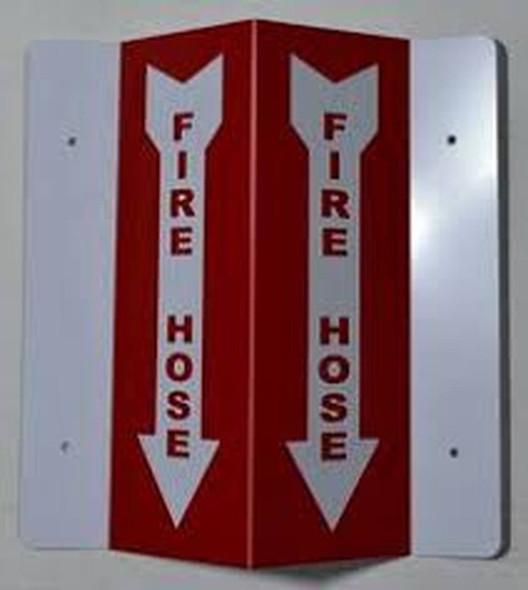 Fire Hose 3D Projection SIGNAGE/Fire Hose SIGNAGE -Les Deux cotes line