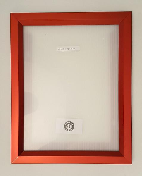Elevator Inspection Frame RED ( Heavy Duty - Aluminum)-