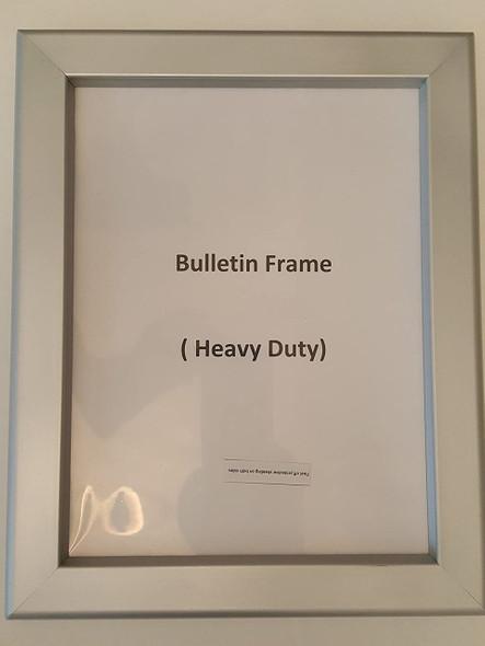 Hallway / Lobby Notice Frame
