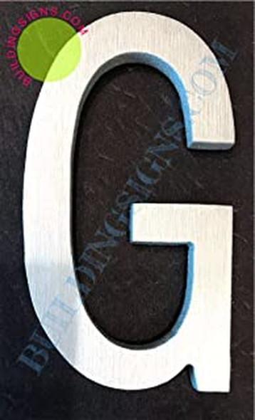 Aluminum Letter G Sign