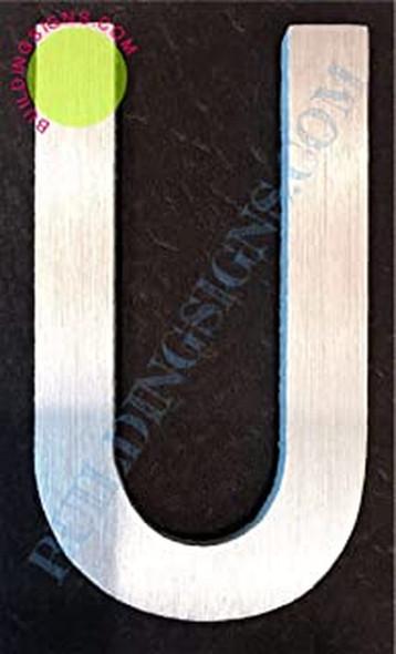 Aluminum Letter U