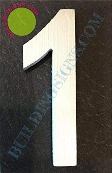 Aluminum Number Sign 1