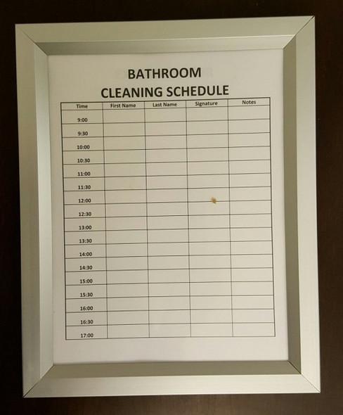 Bathroom Inspection frame
