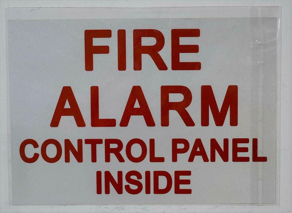 FIRE ALARM signs