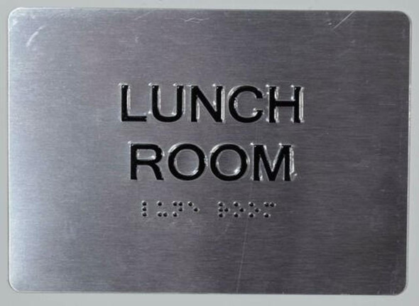 Lunch Room ADA Sign