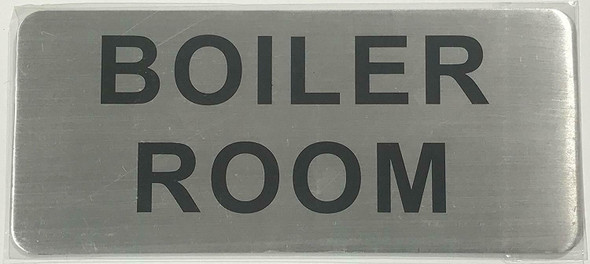 BOILER ROOM SIGN-The Mont argent line