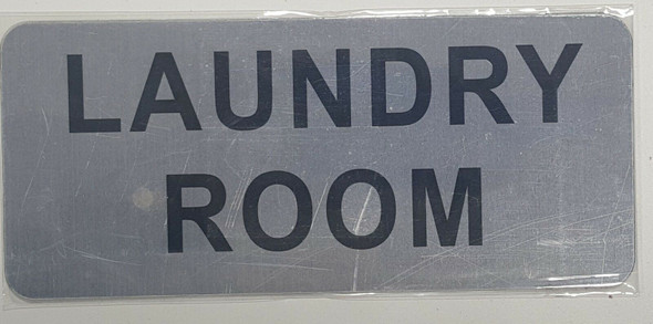 LAUNDRY ROOM SIGN-The Mont argent line
