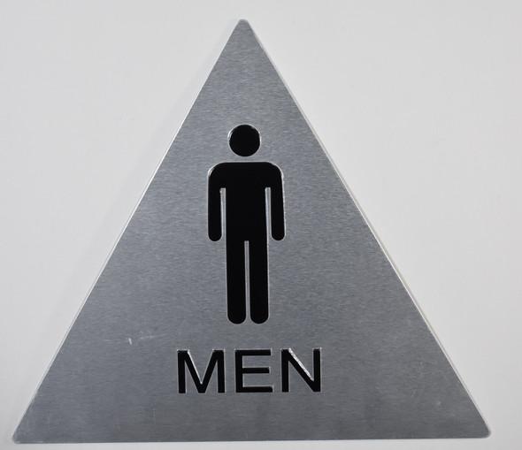 CA ADA Men Restroom Sign