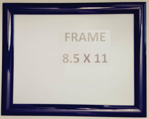 Dark Blue Snap Poster Frame/ Picture Frame