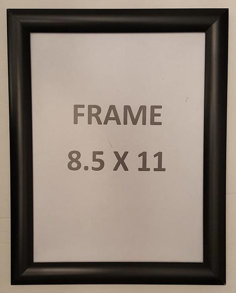 Snap Poster Frame/Picture Frame/Notice Frame Front Load Easy Open Snap Frame