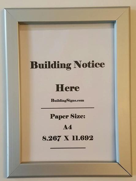 Hallway/Lobby Notice Frame 8.5