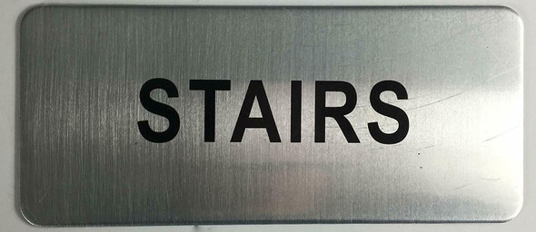 SILVER STAIRS SIGN