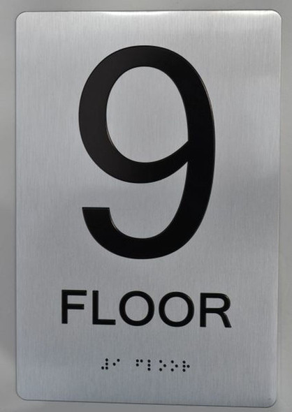 9th FLOOR ADA SIGN