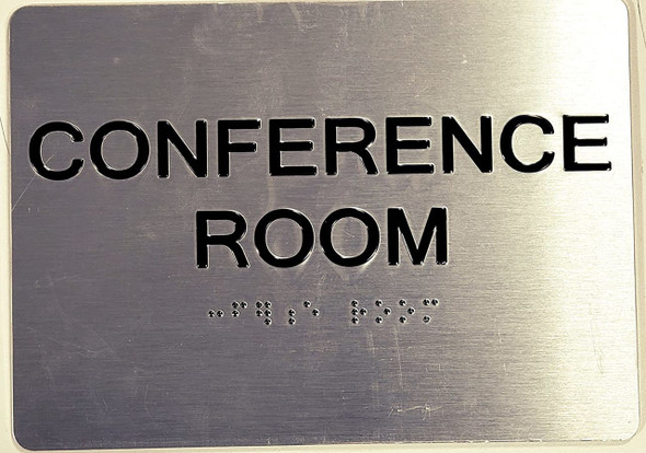 Conference Room ADA-Sign -Tactile Signs The Sensation line Ada sign